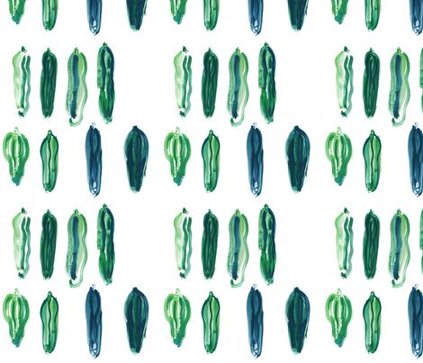 cestlaviv_zuchinni fabric by cest_la_viv on Spoonflower - custom fabric