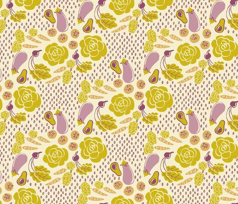 veggie2 fabric by 1stpancake on Spoonflower - custom fabric