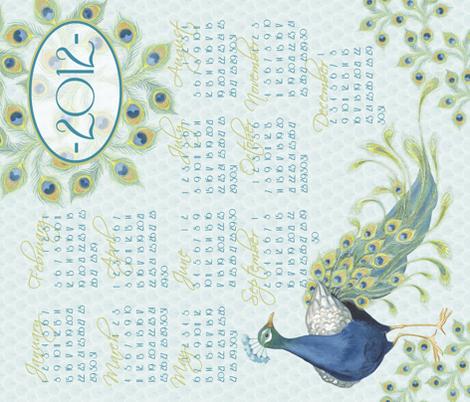 Tea_Towel fabric by nicoletamarin on Spoonflower - custom fabric