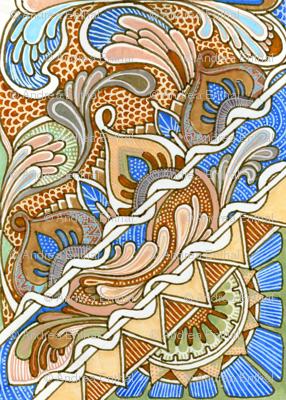 Big Autumn Flutter Tiles