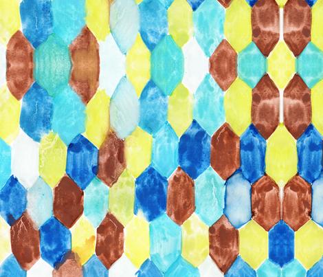 cestlaviv_ quartz [tiles] fabric by cest_la_viv on Spoonflower - custom fabric