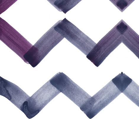 cestlaviv_chevron_pewter fabric by cest_la_viv on Spoonflower - custom fabric