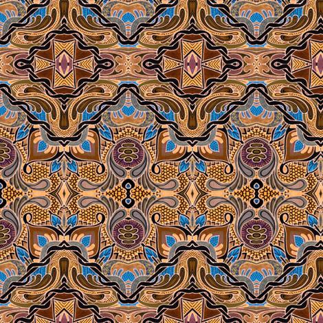 Chocolate and Caramel fabric by edsel2084 on Spoonflower - custom fabric