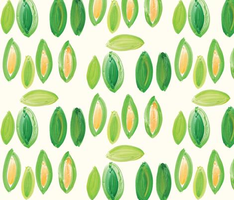 cestlaviv_corn fabric by cest_la_viv on Spoonflower - custom fabric