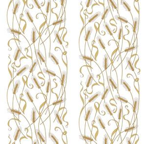 Art Nouveau Wheat wallpaper