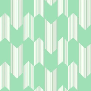boho arrows - small - mint