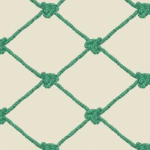 Large Crab Netting - Sealeaf Green