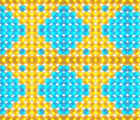 Glowing Sunshine fabric by persimondreams on Spoonflower - custom fabric