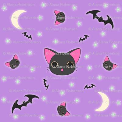 Kawaii Kitty n Bats