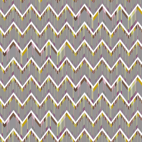 Zig Zag Flickers fabric by joanmclemore on Spoonflower - custom fabric