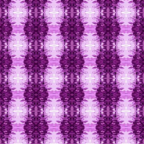 Purple Pow fabric by glennis on Spoonflower - custom fabric