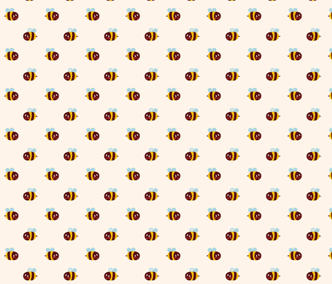 Bzzzzz fabric by bora on Spoonflower - custom fabric