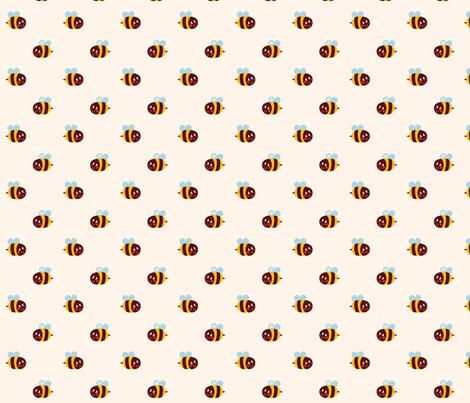 Bzzzzz fabric by bora on Spoonflower - custom fabric