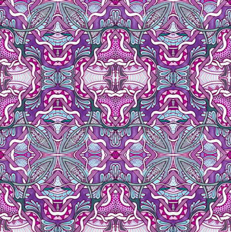 Staying Within the Lines fabric by edsel2084 on Spoonflower - custom fabric