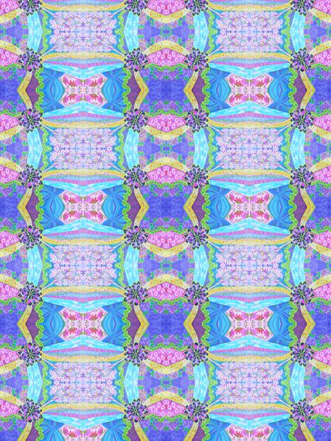 Sophisticated blue fabric by lita_blanc on Spoonflower - custom fabric