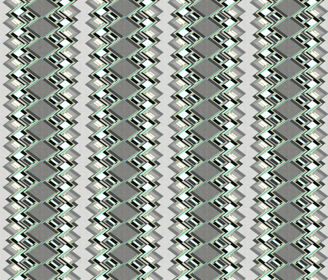 Zig Zag vertical masculine fabric by joanmclemore on Spoonflower - custom fabric