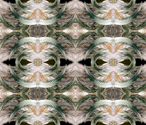 Fancy Feathers fabric by revbellamahri on Spoonflower - custom fabric