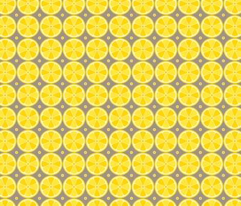 Lemons fabric by jackieatweelife on Spoonflower - custom fabric