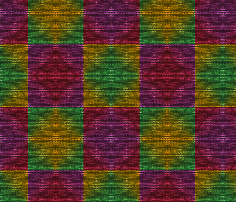 rainbow_quilt_wool_knit fabric by vinkeli on Spoonflower - custom fabric