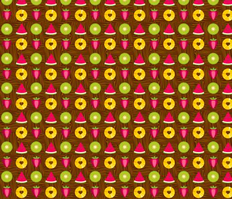 my fruit bowl fabric by jackieatweelife on Spoonflower - custom fabric