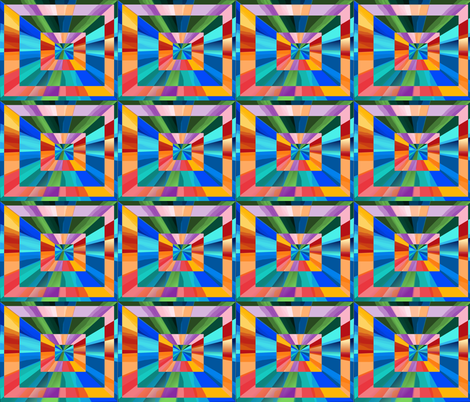rainbow_square_quilt fabric by vinkeli on Spoonflower - custom fabric