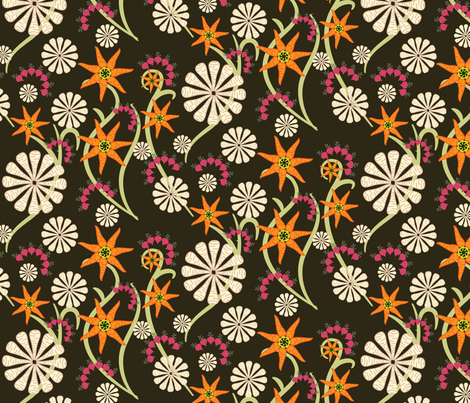 Root vegetables - by ebygomm fabric by upcyclepatch on Spoonflower - custom fabric