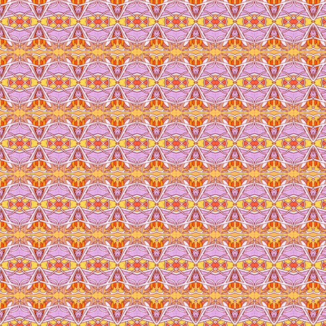 Hexagon Diamond and Sycamore Seed fabric by edsel2084 on Spoonflower - custom fabric