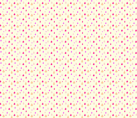 raindrops fabric by nunnaba on Spoonflower - custom fabric