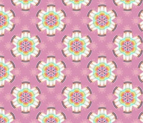 woodduck_rosettes rose fabric by glimmericks on Spoonflower - custom fabric