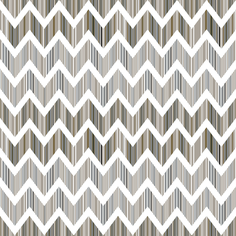 Patina Chevron fabric by joanmclemore on Spoonflower - custom fabric