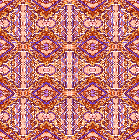 Oh No, It's Deco  fabric by edsel2084 on Spoonflower - custom fabric