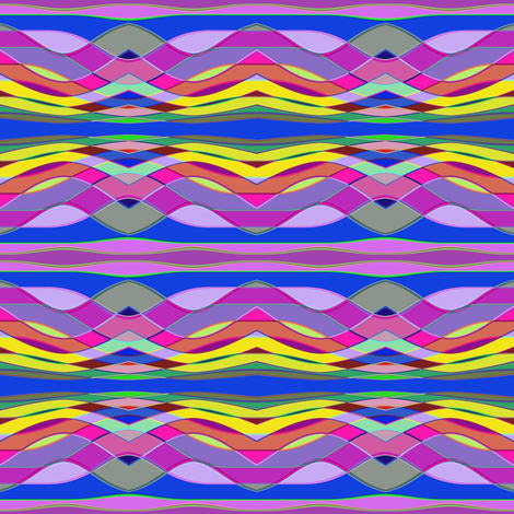 DrunkStripe6 fabric by grannynan on Spoonflower - custom fabric