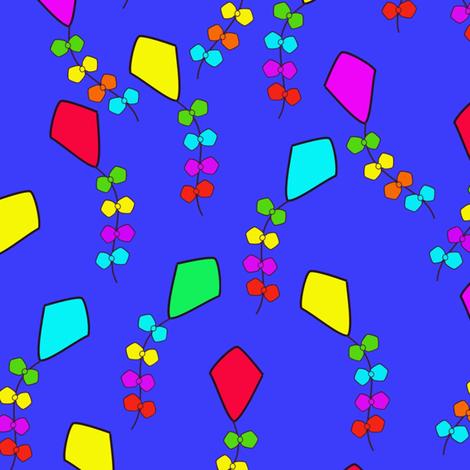 Kites fabric by milimari on Spoonflower - custom fabric