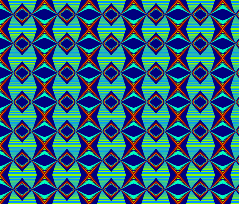 All Aboard! Stripe fabric by robin_rice on Spoonflower - custom fabric