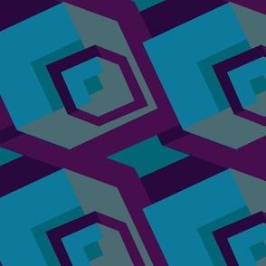 Big BLU cubes