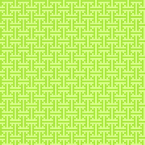 geometric green pattern