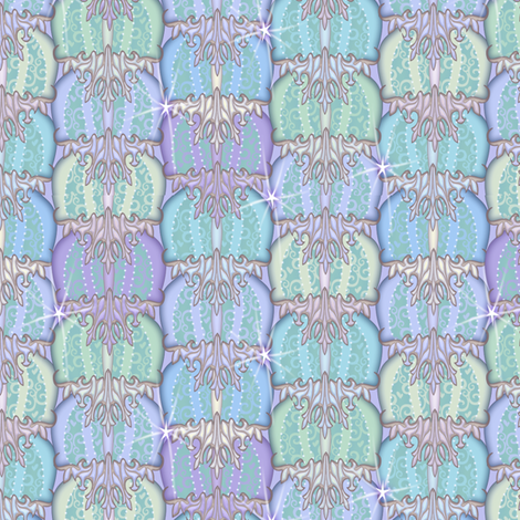 at_the_ball4 fabric by glimmericks on Spoonflower - custom fabric