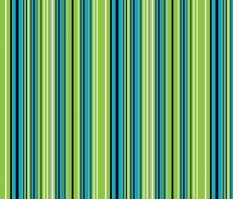 Tropical stripe fabric by joanmclemore on Spoonflower - custom fabric