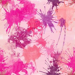 pink watercolor