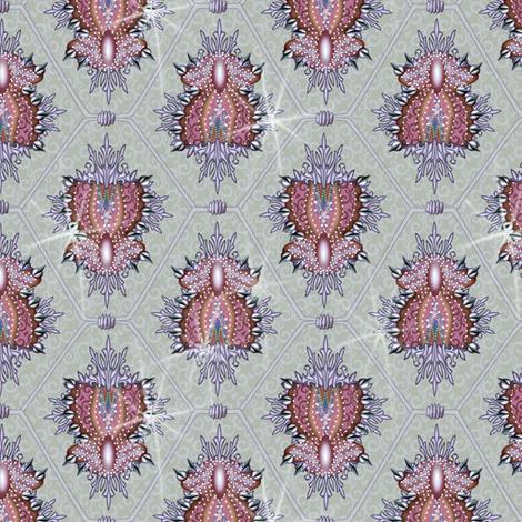 elaboration woodrose fabric by glimmericks on Spoonflower - custom fabric