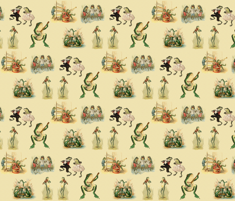 The Band fabric by icarpediem on Spoonflower - custom fabric