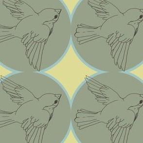 flying birdie