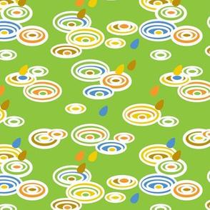 Pitter Pattern in Green