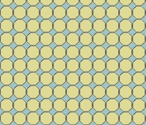 octagon fabric by luluhoo on Spoonflower - custom fabric
