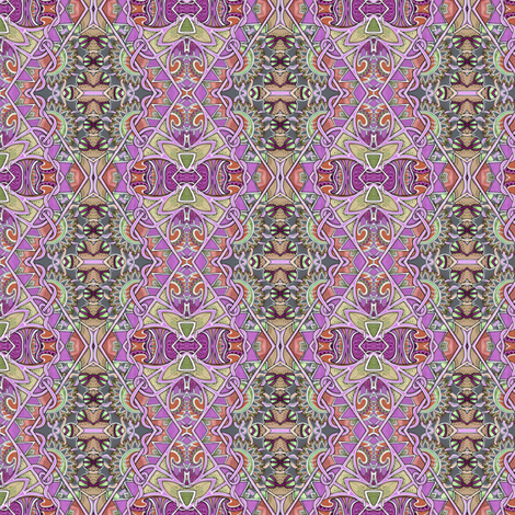 Bordering on Lavender fabric by edsel2084 on Spoonflower - custom fabric
