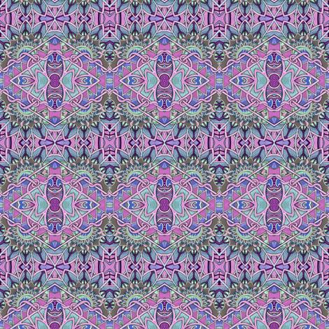 Lavender Deco Diamonds fabric by edsel2084 on Spoonflower - custom fabric
