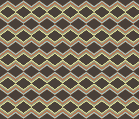 stripes angled fabric by luluhoo on Spoonflower - custom fabric