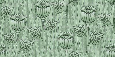 poppies mint