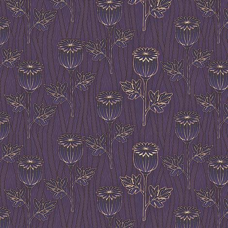 poppies dream fabric by glimmericks on Spoonflower - custom fabric