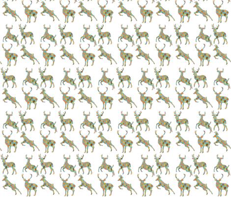 Autumn Deer  fabric by icarpediem on Spoonflower - custom fabric